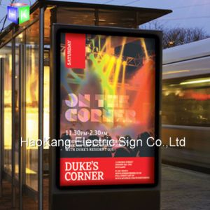 LED Open Sign for Outdoor Backlit Poster Frame Advertising Display Board pictures & photos
