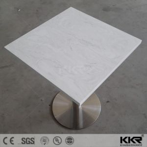 Modern Design Solid Surface Artificial Stone Dining Table pictures & photos