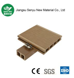 Wearable Outdoor WPC Wood Plastic Composite Flooring for Garden pictures & photos