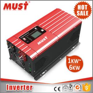 Must Cold Start Function 6kw Pure Sinewave 40-80Hz Solar Inverter pictures & photos