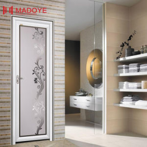 Classical Bathroom Doors with Insulating Glass pictures & photos
