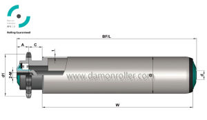 Steel Internal Thread Sprocket Roller (2411/2421) pictures & photos