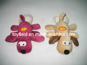 Pet Toy Product Supply Christmas Plush Stuffed Dog Toy pictures & photos