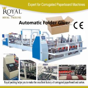 Automatic Folder and Gluer for Carton Making Machine (MJZXJ-1) pictures & photos