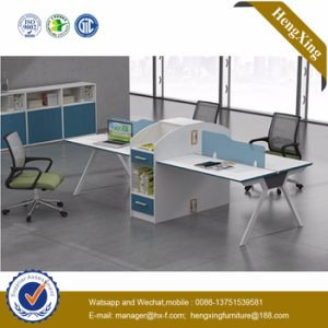 Certificate Office Furniture 4 Person Straight Workstation (UL-NM039) pictures & photos