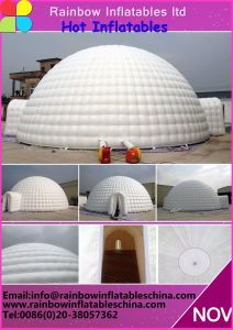 Outdoor Camping Inflatable Clear Air Dome Tent / Inflatable Tent China pictures & photos