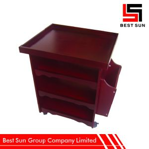 Wholesale Bed Side Table Wooden with Drawers pictures & photos