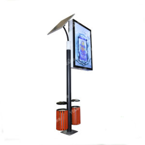 Floor Standing Street Solar Power Advertising Light Box pictures & photos