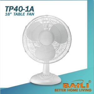 "16"" Desk Fan with Silver Painted Decoration Part pictures & photos"