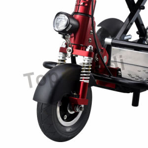 New Medical Strong Power Carbon Fiber Folding Tricycle Electric Mobility Scooter for Elderly pictures & photos