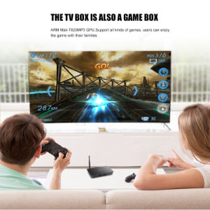 Top Quality 4K Dual RAM 3G ROM 16g IPTV Box pictures & photos