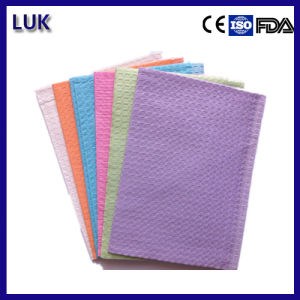 Medical Supply High Quality Disposable Dental Bibs (45X33cm) pictures & photos