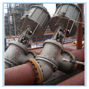 Y Type Slurry Valve for Alumina Process pictures & photos