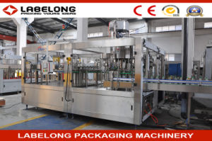Glass Bottle with Aluminum Cap Soda Drink Filling Machine pictures & photos