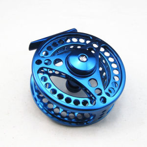 China OEM CNC Machined Anodizing Aluminum Fly Fishing Reel pictures & photos