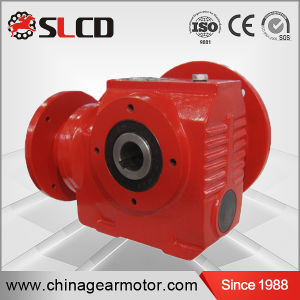 S Series High Efficiency Hollow Shaft Helical Worm Gearmotor pictures & photos