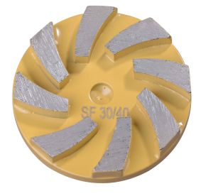 Grinding Wheel for Concrete Floor Machine with Redi Lock pictures & photos