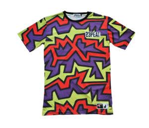 Colorful Design Sport Running Tee Shirt Outdoor Racing T-Shirt (T5040)