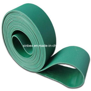 Green PVC Cleats Guides Manufacturer Conveyor Belt pictures & photos