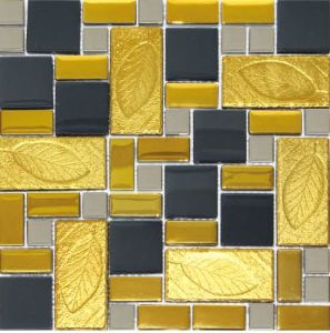 Glass Colorful Mosaics Crystal Mosaic Tile pictures & photos