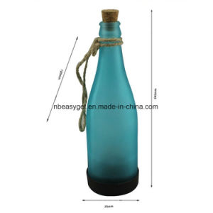 Plastic LED Solar Bottle Lights Wine Bottle Light Garden Hanging Lamp for Party Outdoor Garden Courtyard Patio pictures & photos