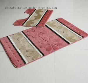 Polypropylene Fiber Washable Mat Bathroom 2 PCS Sets Mat Rugs Floor Mat pictures & photos