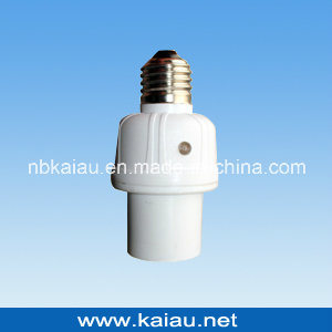 Day and Night Photocell Sensor Light Control Lamp Holder pictures & photos