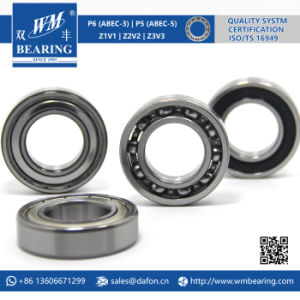 Motorcycle Parts Radial Deepg Groove Ball Bearing (6005) pictures & photos