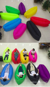 Inflatable Sleeping Air Bag Bed Air Chair Latest Bed Designs Lamzac Rocca Laybag Air Sofa Chair pictures & photos