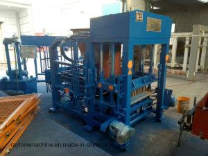 Qt4-18 Hydraulic Automatic Concrete Paving Paver Brick Block Making Machine pictures & photos