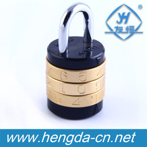 Yh9908 Password Round Cabinet Combination Padlock for Travelling Bag pictures & photos