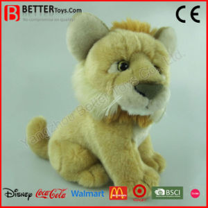 En71 Realistic Stuffed Animal Plush Lion Toy pictures & photos