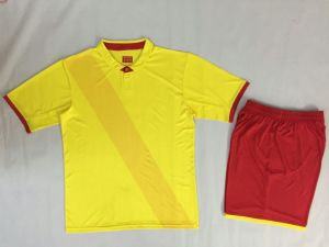Top Quality Custom Wholesale Sublimated Football Kits pictures & photos