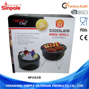 Small Unique Design Stainless Steel Charcoal Outdoor BBQ Grill pictures & photos