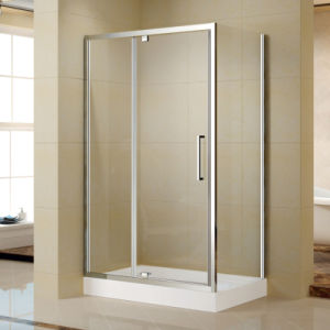 High Quality Aluminum Frame Shower Enclosure with Acrylic Shower Tray (K-P12) pictures & photos
