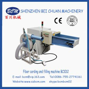 Pillow Coushion Fiber Opening and Filling Machine pictures & photos