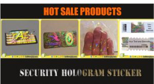 High Grade Customized Multicolor 3D Hologram Sticker pictures & photos