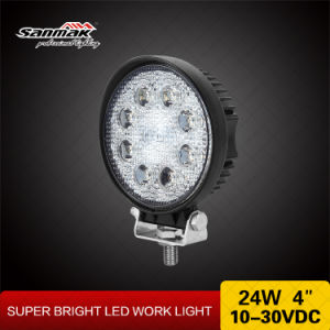 Round Shape 24watt 4 Inch LED Work Light for Offroad pictures & photos