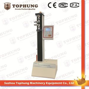 Single Column Wire Elongation Strength Tester with Ce (TH-8203S) pictures & photos
