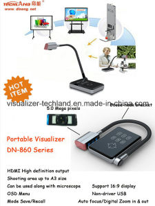 Teaching Equipment Gooseneck HDMI Portable Visualizer for Office Equipment pictures & photos