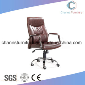 Modern High Grade Furnituer Brown Leather Executive Manager Swivel Chair pictures & photos