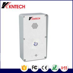 VoIP Door Phone Knzd-45 SIP Intercom Door Bell pictures & photos