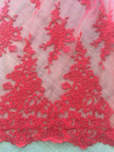 Fashion Soft Tulle Embroidery Sequins Lace, Wedding Dress&Dace Dress Fabric pictures & photos