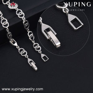 74346 Fashion Jewelry Charm Colorful Stones Rhodium Plated Women CZ Bracelet pictures & photos