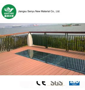 Outdoor Swimming Pool WPC Wood Plastic Decking with Ce pictures & photos