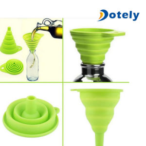 Cookware Silicone Kitchen Canning Funnel pictures & photos