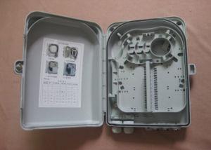 FTTX 24 Port Fiber Optic Distribution Box, Fiber Distribution Cabinet ABS Plastic Housing pictures & photos