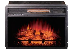 """CSA Certified 23"""" Electric Infrared Fireplace Heater"""
