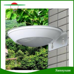 Outdoor Lighting Product 16 LED Solar Power Garden Lamp Microwave Radar Motion Sensor Solar Wall Light pictures & photos