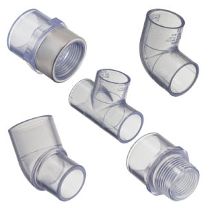 Clear Sch40 Pipe and Fitting pictures & photos